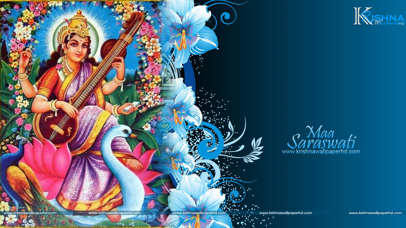 Maa Saraswati HD Wallpaper