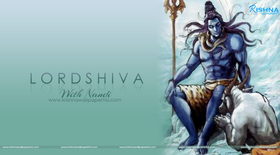 Lord Shiva with Nandi HD Wallpaper Free Download