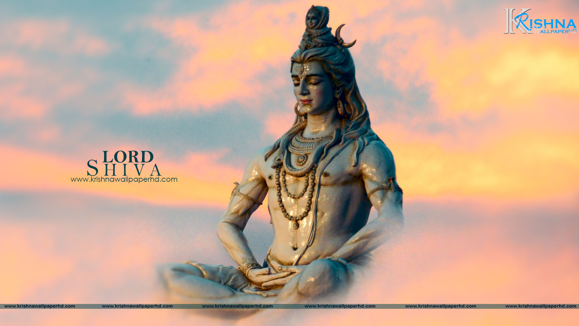 Statue Wallpaper of Lord Shiva in Full HD Size Free Download