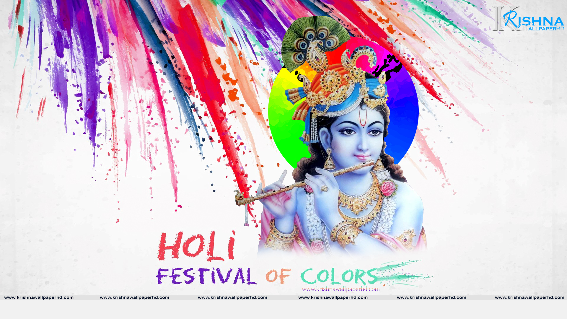 Holi Full HD Size Wallpaper Free Download