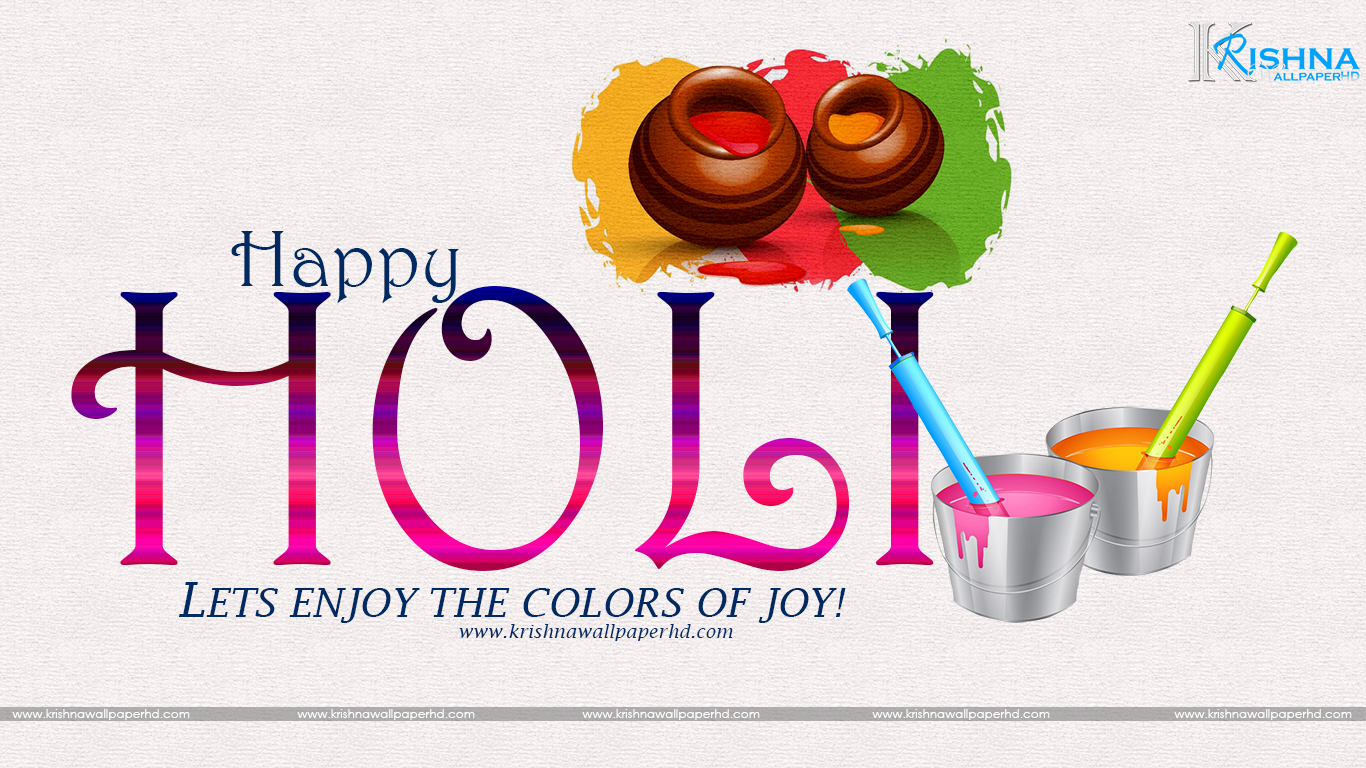 Happy Holi Wallpaper Free Download