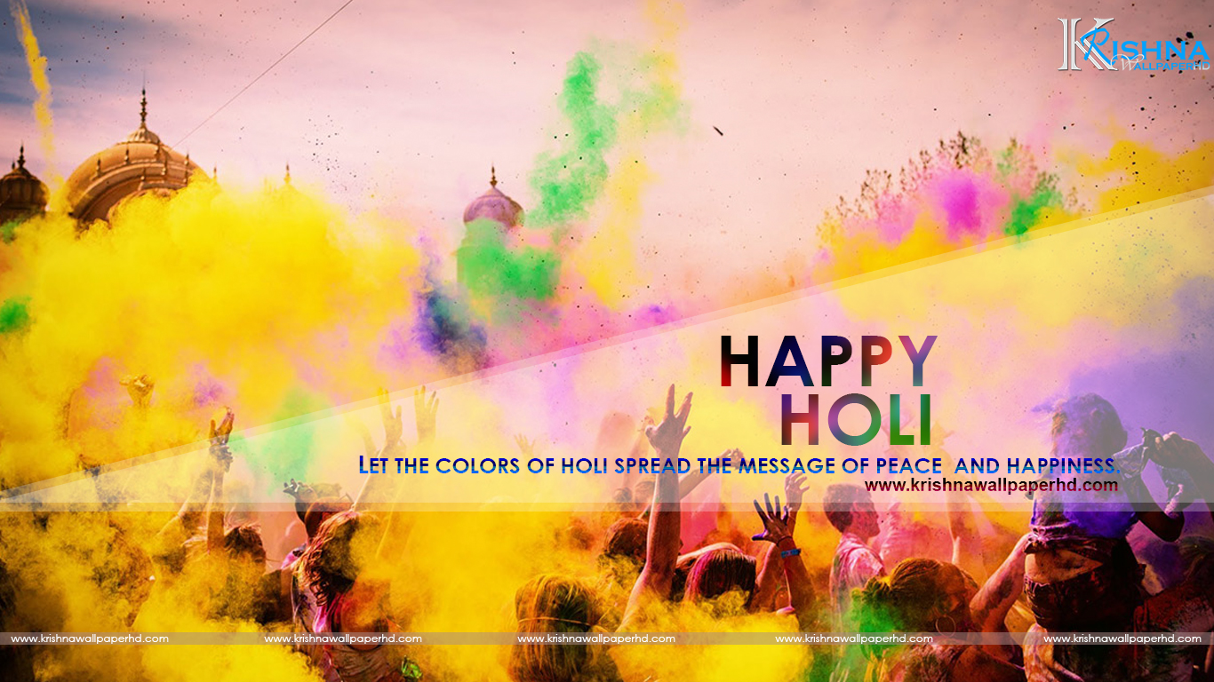 HD Happy Holi Photo Free Download