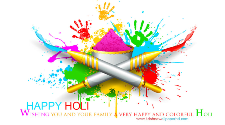 Holi Wishes Wallpaper Free Download