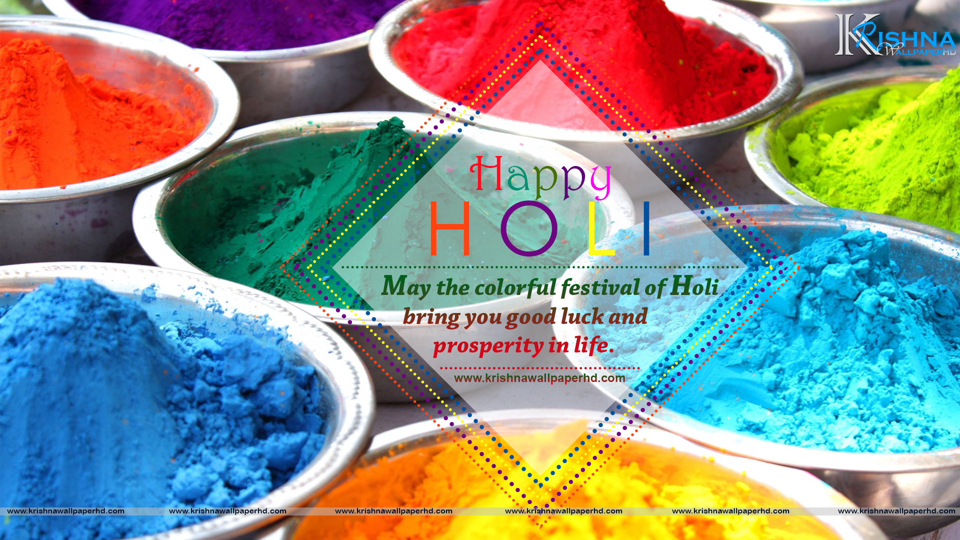 Holi Wishes Photo in HD Free Download