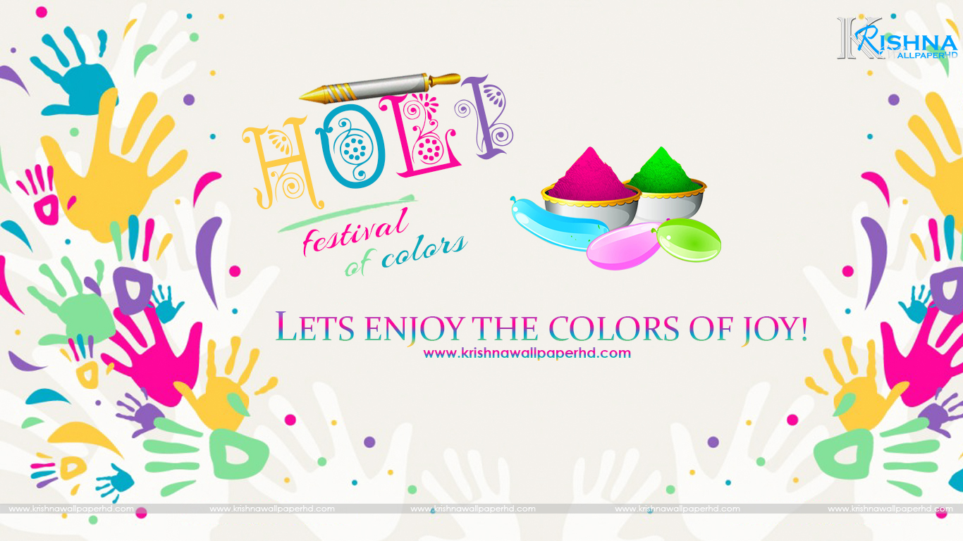 Holi HD Background Free Download