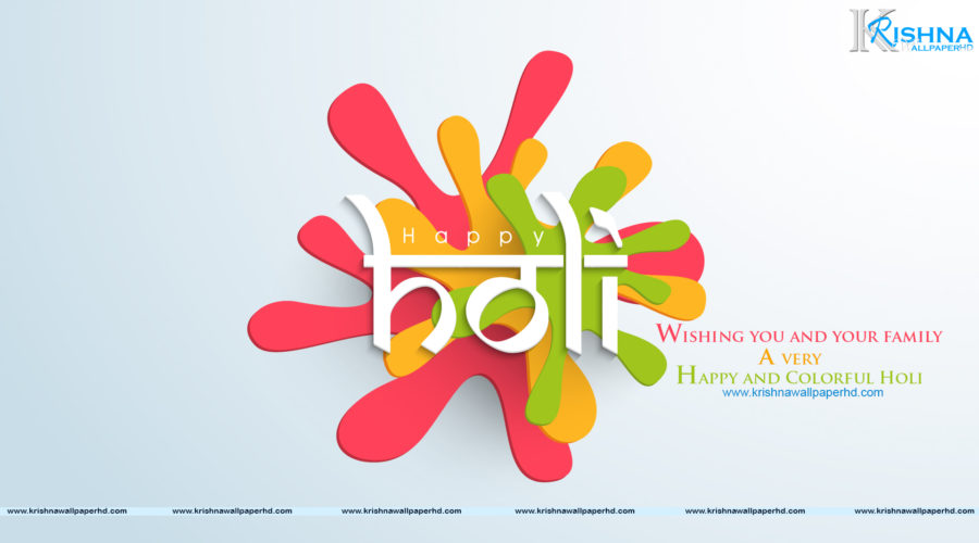 Happy Holi Full HD Size Image Free Download
