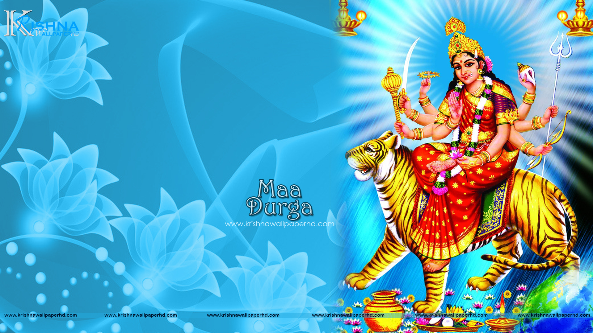 Maa Durga HD Wallpaper 1080p
