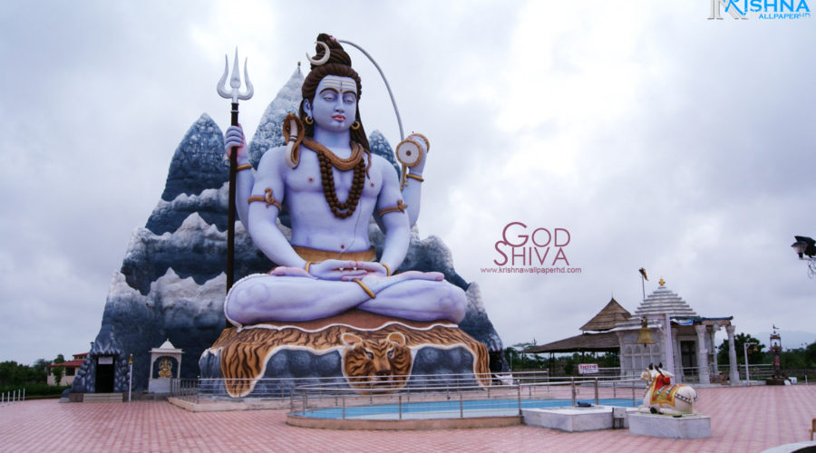 God Shiva Statue Wallpaper Free Download