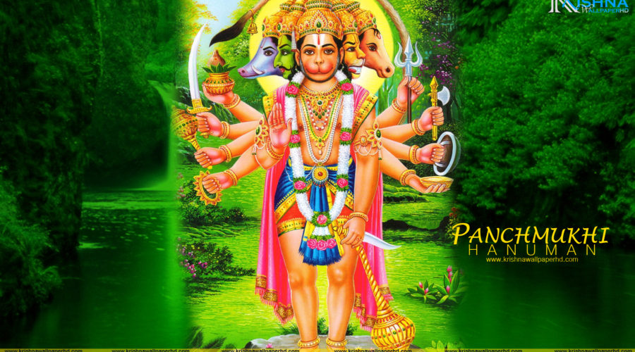 Panchmukhi Hanuman Ji Wallpaper