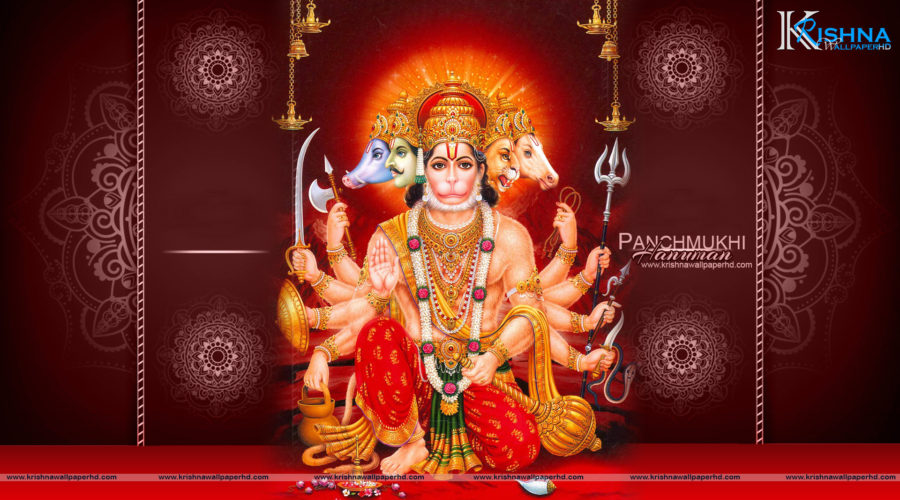 Panchmukhi Hanuman Full HD Wallpaper