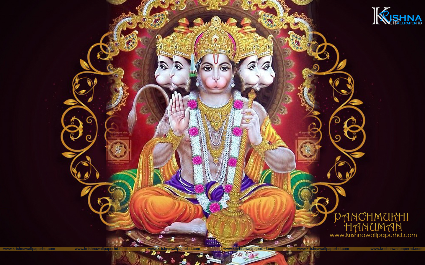 HD Panchmukhi Hanuman Wallpaper