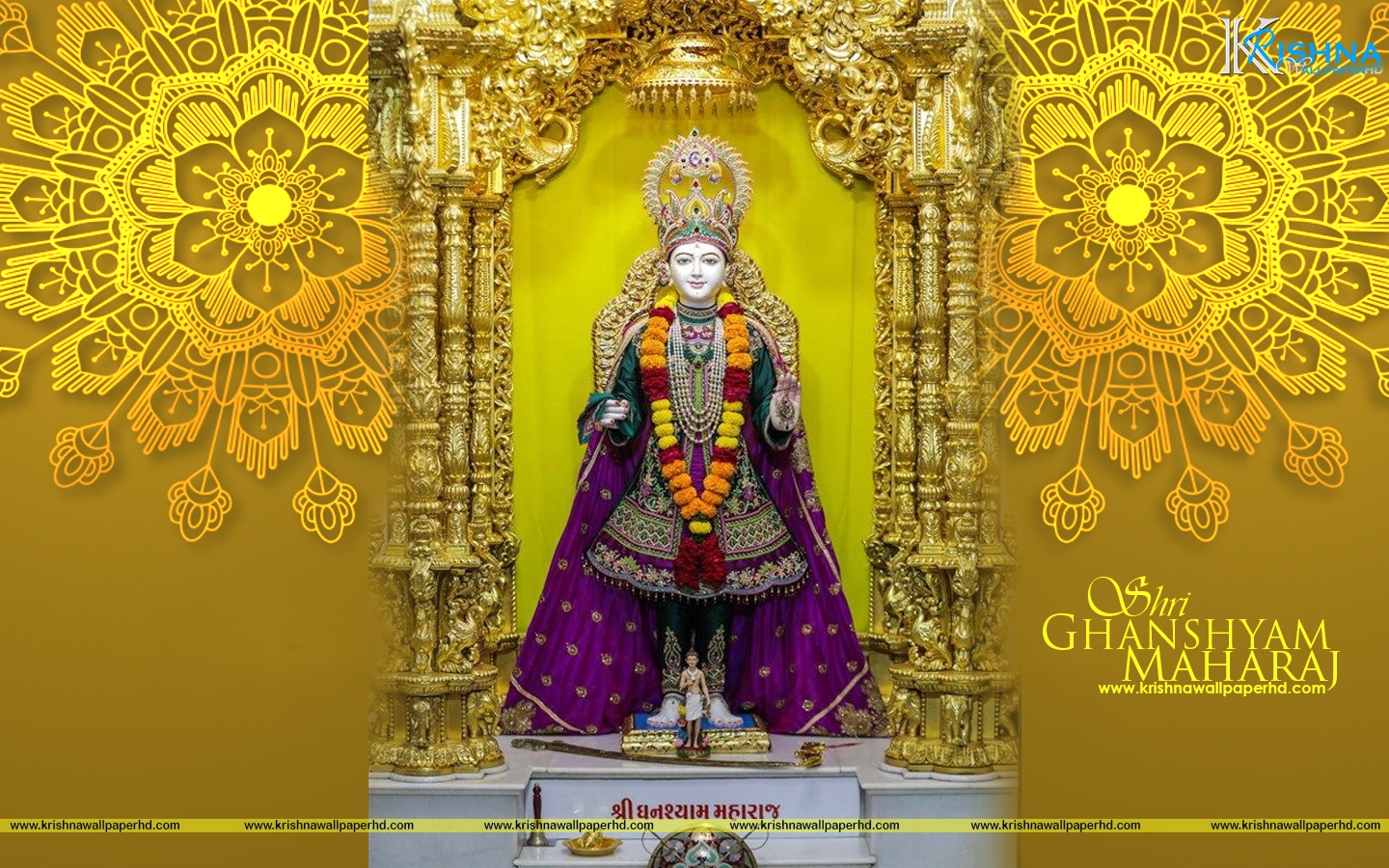 Ghanshyam Maharaj Wallpaper
