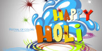 Happy Holi Full HD Image